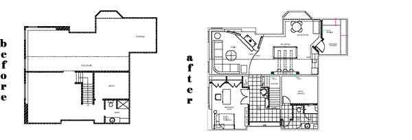 Basement Design Floorplan